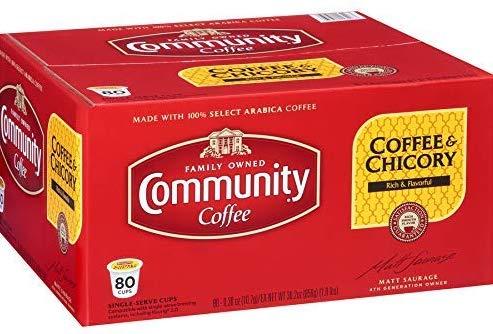COMMUNITY COFFEE CHICORY K-CUPS